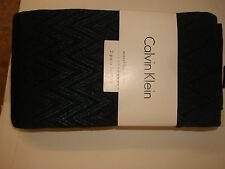 Calvin Klein, Two Pairs Opaque Coverage  Tights, Green & Black, Size A / B , NWT