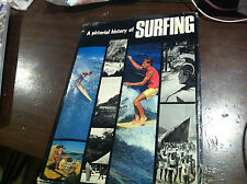 PICTORIAL HISTORY OF SURFING RARE SURF SURFING AUSTRALIAN SURFBOARD 1970 BOOK
