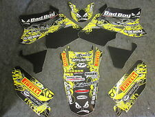 SUZUKI RM125 RM250 2001-2010 Team CATTIVO Boy USA GRAFICHE decal set GR1500
