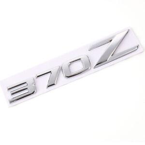 Chrome 370Z Emblem Rear Trunk Badge Sticker Decal for Fairlady Z Z34 Nismo