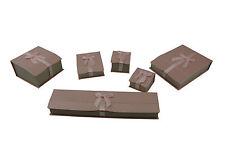 Parigi BOX serieswith Bow-Anello, Orecchino, Ciondolo, Uni, bracciale, collana, WATCH BOX