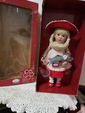 """Gotz 11"""" NELLA w/Kitty Cat Doll Artist Beatrice Perini Germany Limited Edit NRFB"""