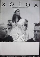 Xotox - 2004-tourplakat-Concert-la intranquilidad-Tour póster