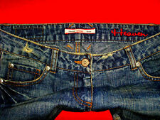 "S. Oliver jeans hüftjeans ""Heaven"" strass blue denim w28 l34 NUOVA!!! TOP!!!"