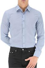 NWT Boss Black Label by Hugo Boss Slim Fit Sport Shirt Size XXL in Blue