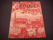 The Magazine Antiques,Feb 1938, Vol XXXIII,English Chintz,Oak Furniture Ipswich