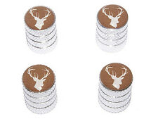 Deer Hunting - Tire Rim Valve Stem Caps - Aluminum