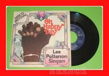 """LEE PATTERSON SINGERS OH HAPPY DAY 45 GIRI 7"""" Italy EX+"""