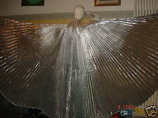 ALI WINGS FOR BELLY DANCE DANZA DEL VENTRE SILVER