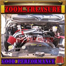RED 2000-2010/00-10 DODGE DAKOTA/DURANGO/RAM 1500 V6 V8 AIR INTAKE KIT S