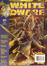 White Dwarf #220 Warhammer 40k Ork Scorcher, Gorkamorka Mad Meks, Bloodbowl