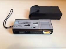 Le Clic FS10 Everflash Vintage 1980's Retro Pocket 110 Film Camera with Case GWO