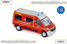 Renault Master 2014 Pompiers  NOREV - NO 310806 - Echelle 1/64