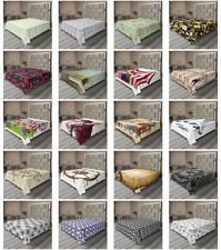 Ambesonne Vintage Scene Flat Sheet Top Sheet Decorative Bedding 6 Sizes