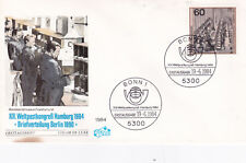 West Germany 1984 Letter Sorting Fdc Unadressed Vgc