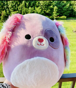 """NEW Squishmallow BARB the Puppy Dog 16"""" 🐶 LIMITED 🐶Target Exclusive plush"""