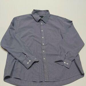 M&S 18.5 collar Shirt  pure cotton  small fine check