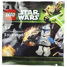 RARE lego star wars CLONE LIEUTENANT trooper minifigure polybag SEALED promo