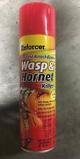 New Enforcer Wasp And Hornet Killer 22 Foot Range Spray 16 Oz Lot of 12