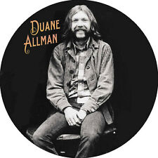 CHAPA/BADGE DUANE ALLMAN . pin button allman brothers band lynyrd skynyrd south