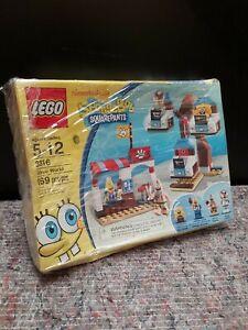 LEGO SPONGEBOB SQUAREPANTS 3816 GLOVE WORLD PLAYSET TOY - COMPLETE.