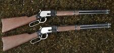 1959 MATTEL WINCHESTER LEVER ACTION RIFLE LONE RANGER SHOOTIN SHELL TOY CAP GUN
