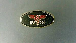 Van Halen VH Logo Lapel Pin Badge 80's Metal Rock Eddie David Lee Roth 1984