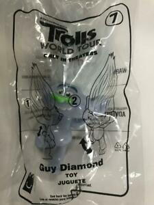 McDonald's 2020 Trolls World Tour Happy Meal Toy #7 Guy Diamond