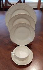 """ROSENTHAL CONTINENTAL """"GOLD BAND"""" (SANSSOUCI) 5 PIECE PLACE SETTING (S) GERMANY"""