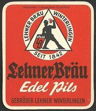 ALT! etiqueta de cerveza Lehner Brau Rosenfeld Zollemalb Baden-Württemberg
