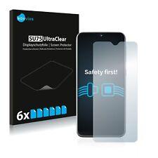 6x Samsung Galaxy A20e Displayschutzfolie Klar Transparent Schutzfolie