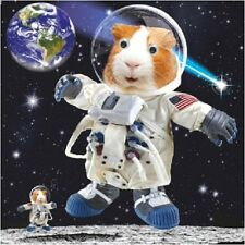 Guinea Pig in Space Funny Gogglies 3D Moving Googly Eyes Birthday Greeting Card