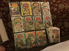 MARVEL COLLECTOR'S ITEM CLASSICS SUPERHEROES COMIC LOT SILVER AGE 1 14 11 VF