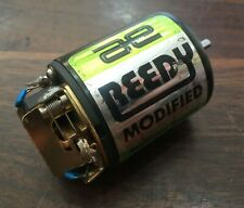 USED vintage Team Associated Reedy green modified brushed rc motor YZ10 RC10