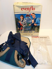 Vintage Evenflo About Face Fresh Air Gear Dual Facing Baby Carrier 0-12 Months