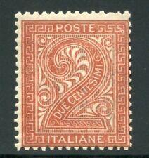 1867 Regno 2 cent. rosso mattone tiratura Torino nuovo spl MNH **