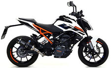 SILENCIEUX ARROW THUNDER ALU DARK KTM DUKE 125 2017 - 71675MI+71860AKN