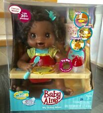 Baby Alive My Baby Alive Doll 2010 African Brunette Doll New In Box Hasbro