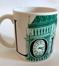Starbucks London City Coffee Mug Big Ben Collector Series  2002 16 0z.