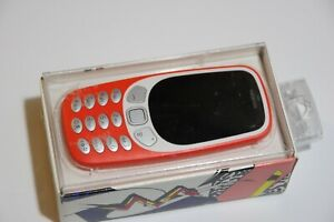 USED Nokia 3310 - Red (Unlocked) Cellular Phone