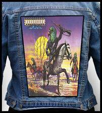 BUDGIE - Bandolier --- Giant Backpatch Back Patch