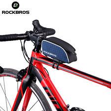 ROCKBROS Top Tube Cycling Road Bike Bags Rainproof Portable Blue Bicycle Bag