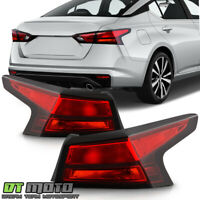 For 2019-2020 Altima Red Tail Lights Brake Lamps Replacement Outer Left+Right