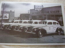 1939  PLYMOUTH TAXI CAB FLEET  11 X 17  PHOTO   PICTURE