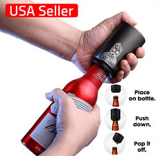 Automatic Beer Bottle Opener Stainless - Great gift - Bottle Cap Gadget - Single