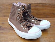 Converse CT All Star Mid Tan Canvas Hi Top Casual Trainers Size UK  4 EU 36.5