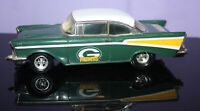 ERTL 1957 Chevy 1:24 Scale Die Cast Car / Bank w/ Key ~ Green Bay Packers Design