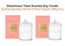 Glasshouse Fragrances 380g Sydney Sundays Candle