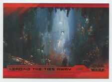 2017 Star Wars The Last Jedi card #88 - RED Parallel Base card 10/199