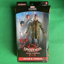 Peter B. Parker INTO THE SPIDER-VERSE Marvel Legends Build A Figure STILT-MAN